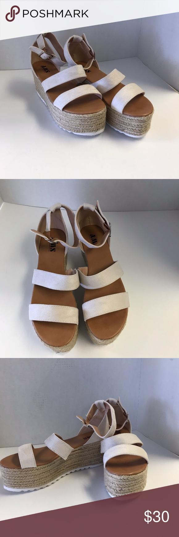 eb266386ca0 AMS Platform Wedge AMS Platform Wedge AMS Shoes Wedges