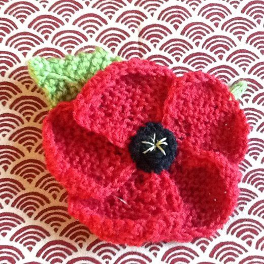 November Poppies knitting project by Hazel H | Knitted ...