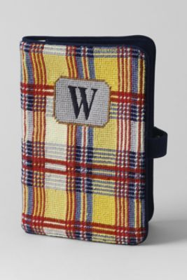 "I think Mama needs a ""Needlepoint Nook-Kindle Case"" from Lands' End"