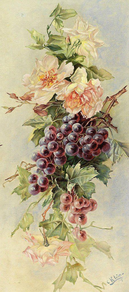 Старинные открытки цветы, надписью 500 подписчиков