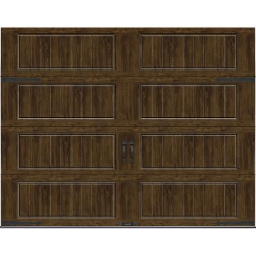 Ideal Door Carriage House 9 Ft X 7 Ft Ultra Grain Walnut Premium Insulated Garage Door At Menards With Images Garage Door Styles Garage Doors Garage Door Insulation