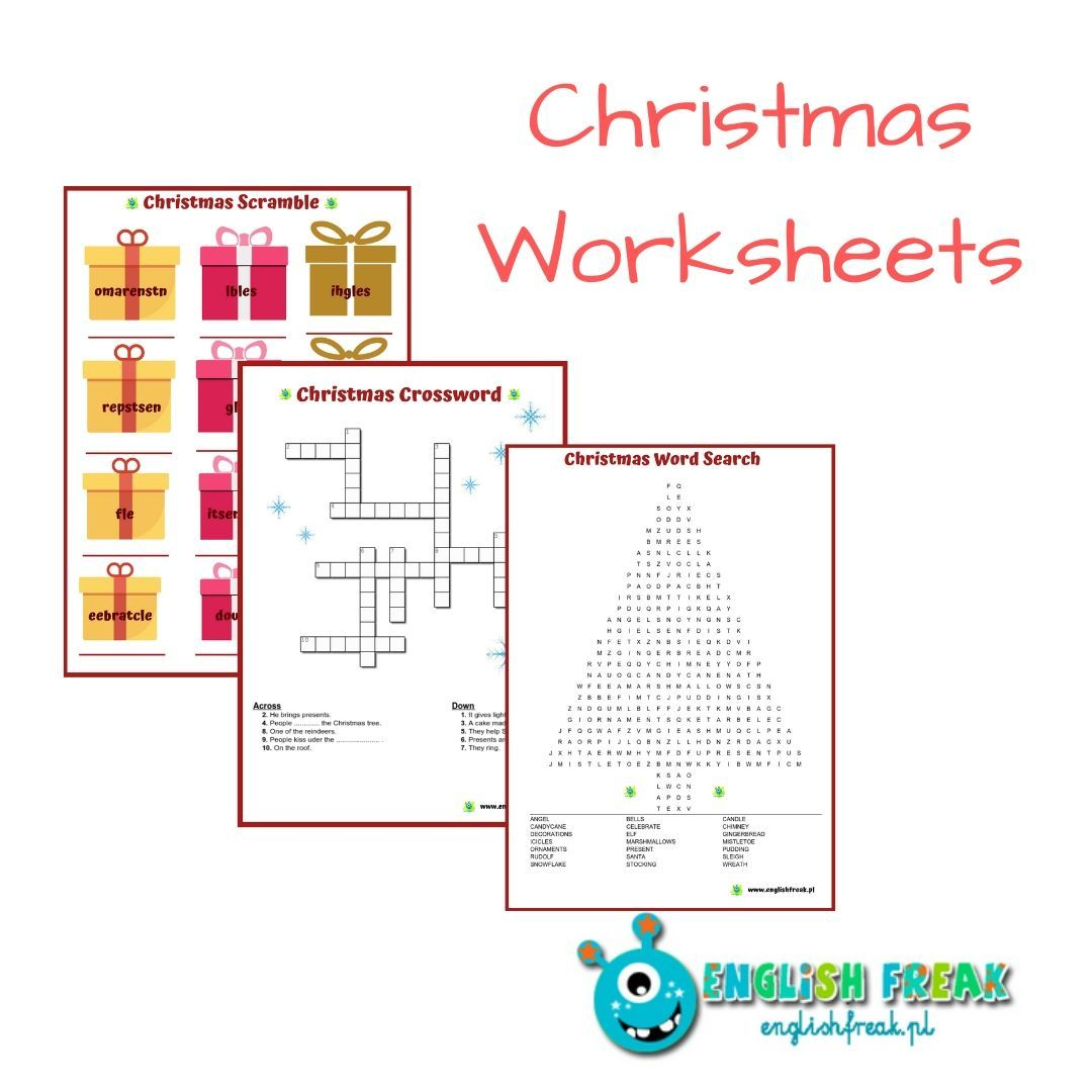 Christmas Worksheets Are Coming