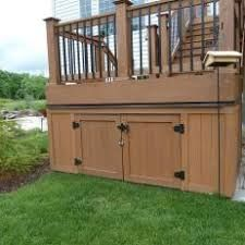 Image Result For Decks With Storage Underneath Building A Deck Decks Backyard Outdoor Diy Projects