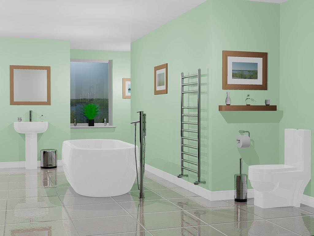 calming bathroom colors ideas