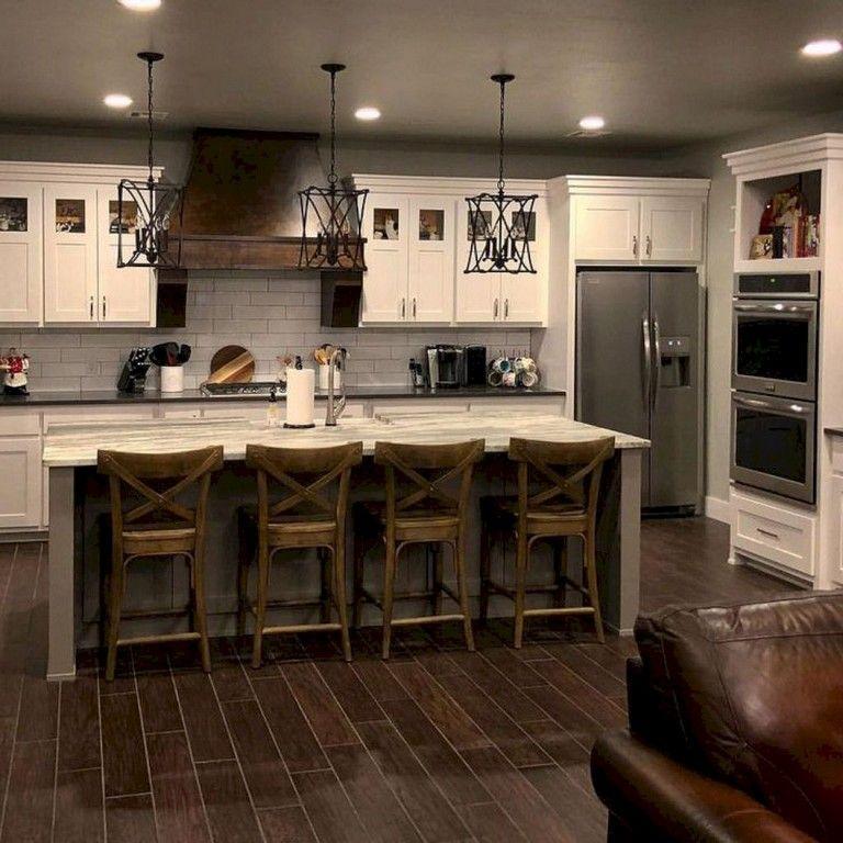 100+ Gorgeous Kitchen Backsplash Remodel Ideas #kitchenbacksplash