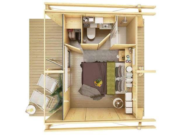 Grandes idées pour petits espaces Tiny houses, Arch and Interiors - aide pour construire une maison
