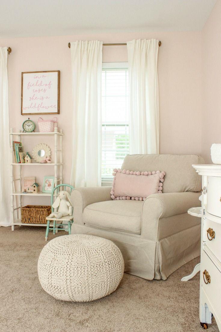 Sweet Blush Pink Nursery Blush Pink Nursery Pink Nursery Girl Room