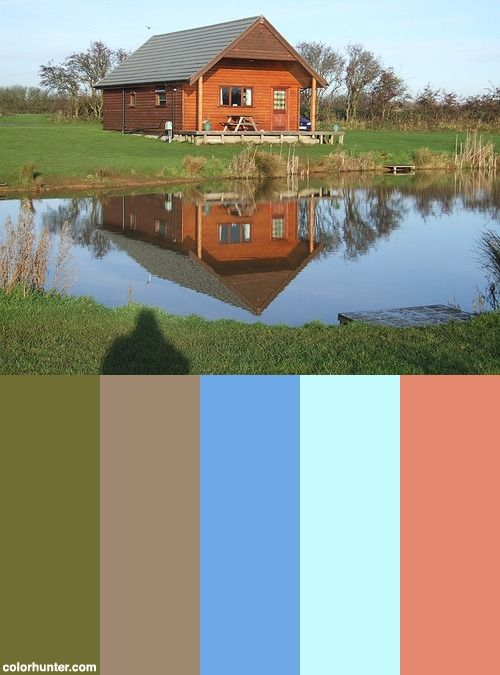 lake house cabin color scheme color schemes color on lake house color schemes id=28584