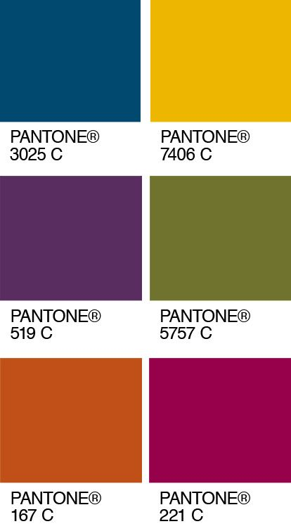 From a pantone pair to a palette pantone jewel tone - Jewel tones color palette ...