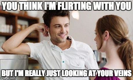 flirting signs he likes you meme funny memes images