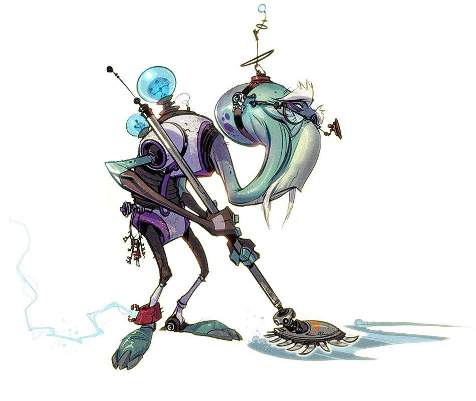Nevo Binklemeyer from Ratchet & Clank: All 4 One