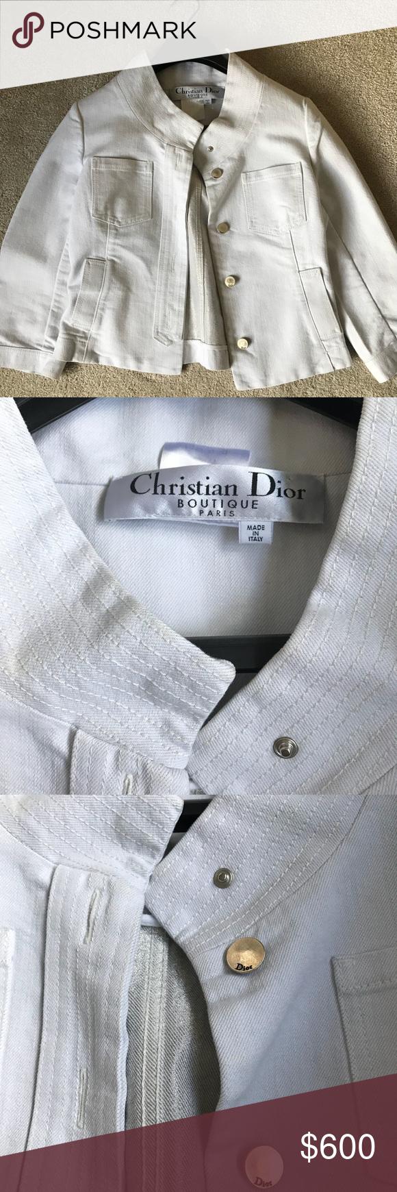 Christian Dior White Denim Jacket White Denim Jacket White Denim Denim Jacket [ 1740 x 580 Pixel ]