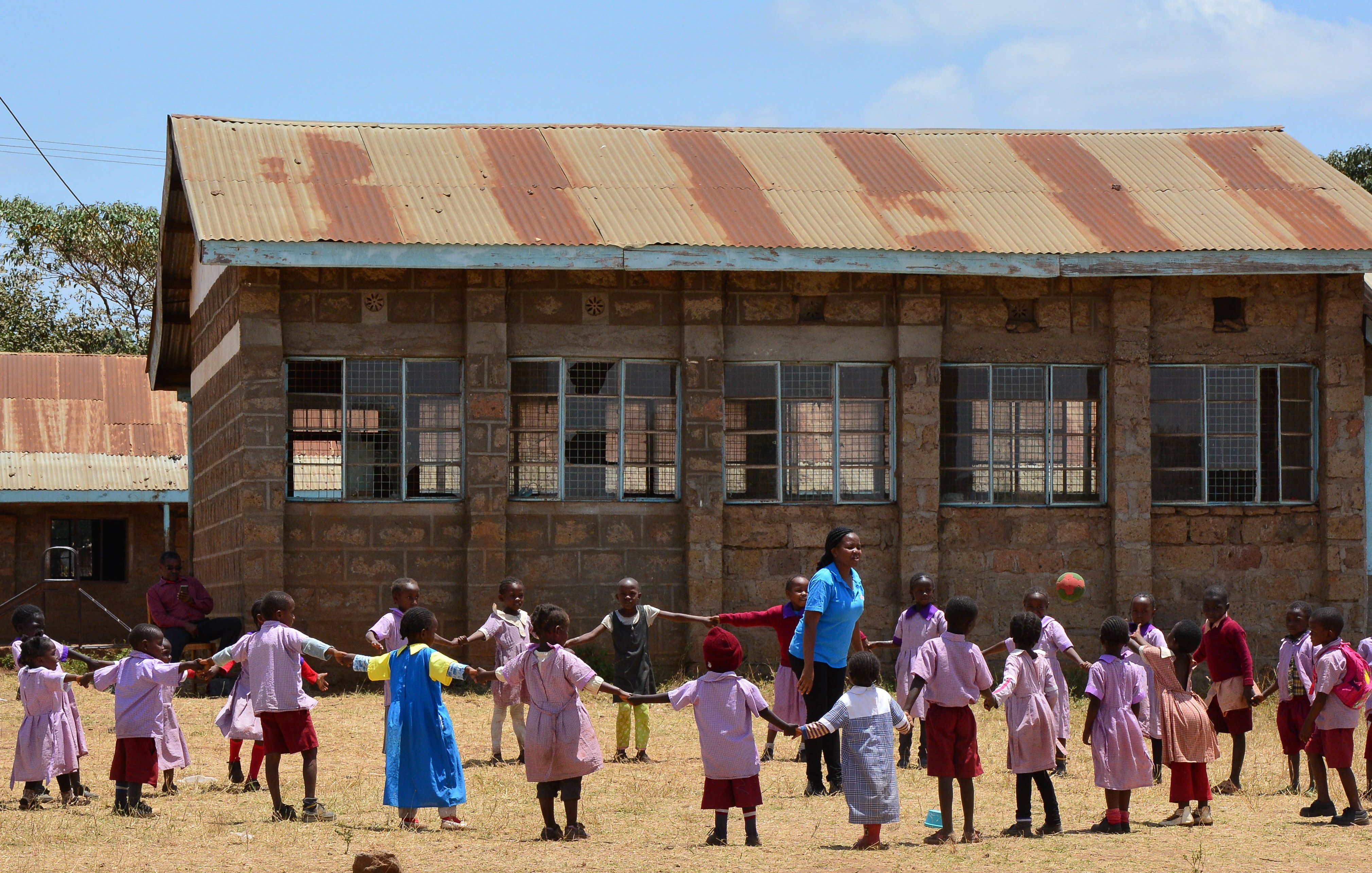 Join for Joy Sports and play program at school #kenya #joinforjoy