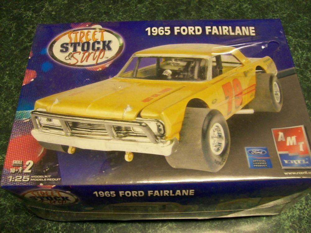Image result for AMT 1190 - 1965 Ford Fairlane Modified Stocker