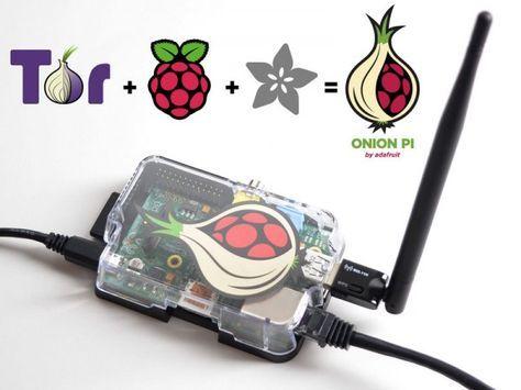 Un kit abordable de proxy portatif TOR* à base de Raspberry Pi - utilisation eau de pluie maison