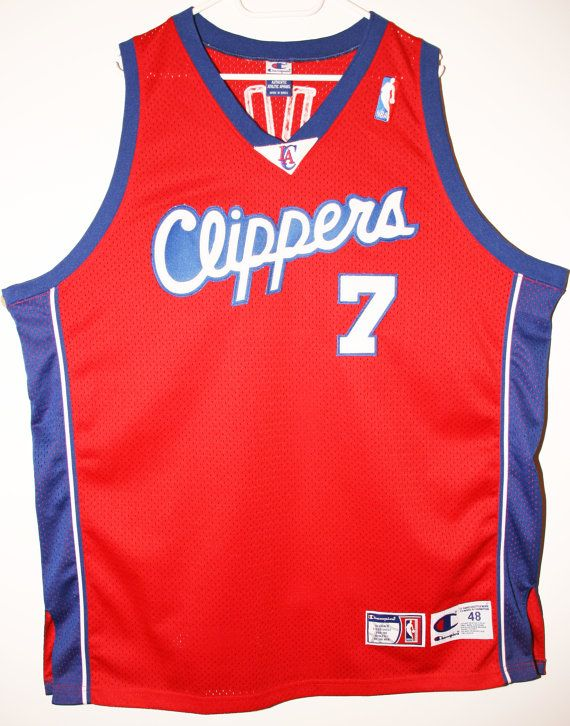 dbe4c34840a Champion NBA Basketball Los Angeles Clippers  7 Lamar Odom Authentic Trikot  Jersey Size 48 - Größe XL - 149