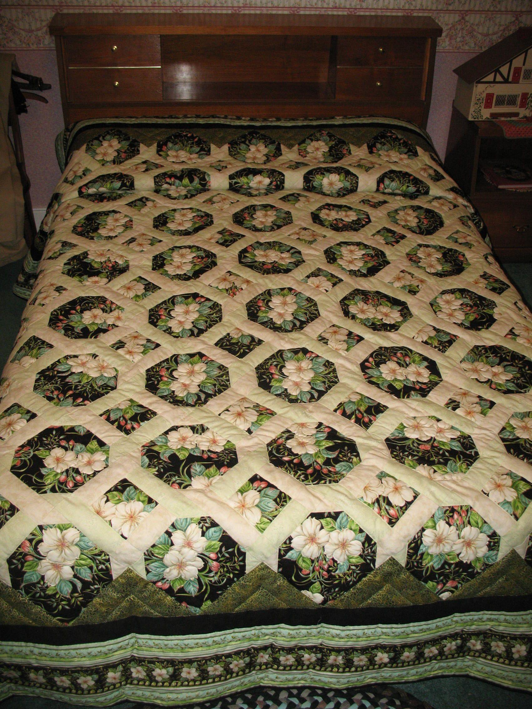 Garden Twist Quilt Gorgeous Quilts Pinterest