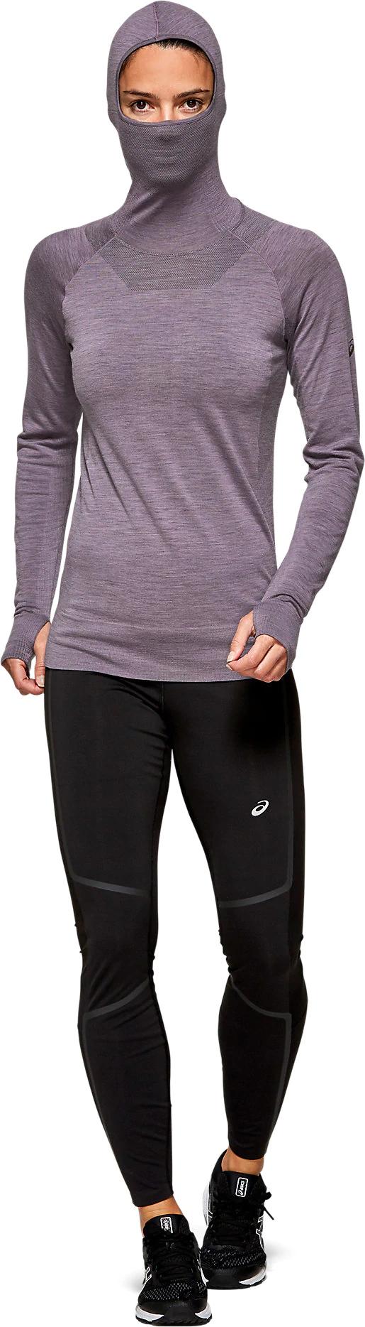 Women's Metarun Long Sleeve | Lavender Grey | Long Sleeve Shirts ...
