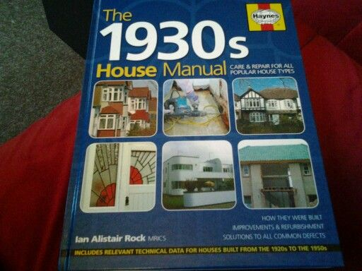 my new bible the 1930s house manual 1930s house ideas pinterest rh pinterest com 1930s Sports 1930s Food