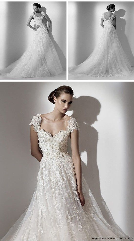 Delicate classic wedding gowns paying homeage to the most for Paying for a wedding dress