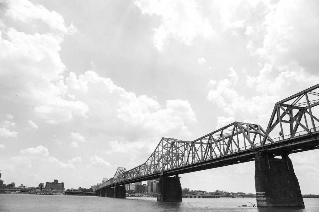 Walking Bridge   #walkingbridge #shelbystreetbridge #nashville #cumberlandriver #bridge #river