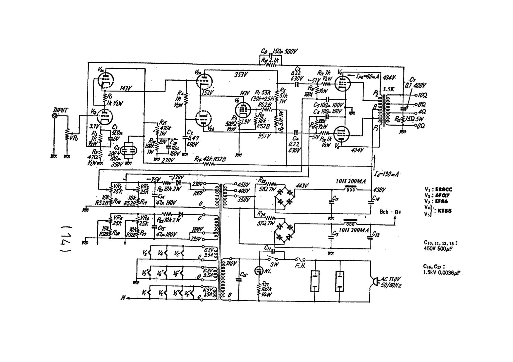 Kt88 Tube Amp Schematics