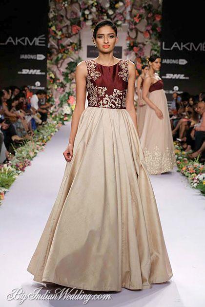 Shyamal & Bhumika evening gown