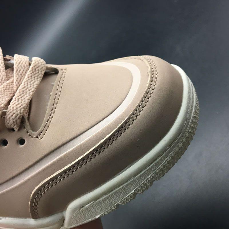 02a0d72fb68 Air Jordan 3 'Particle Beige' SE Rose Gold Womens GS Size AH7859-205 ...