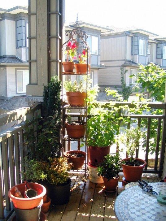 Balcony Garden Exterior Design Pinterest Balcony gardening