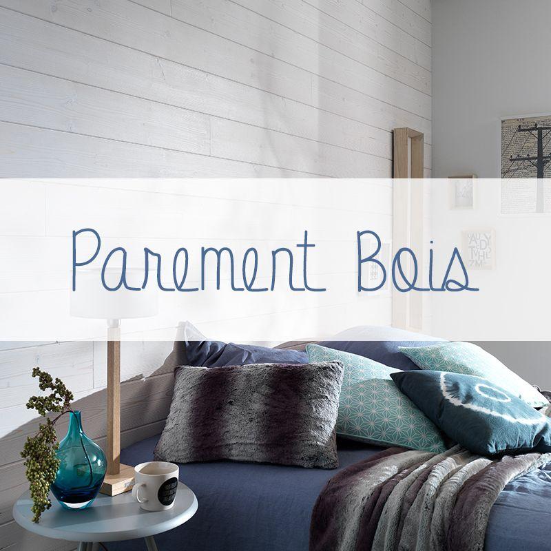 le parement bois permet d 39 habiller les murs d 39 une pi ce poser dans toute la pi ce en. Black Bedroom Furniture Sets. Home Design Ideas