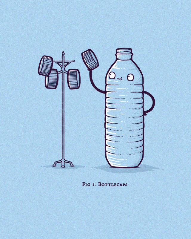 Toping It Off By Aaron Jay Illustrations Funny Illustration