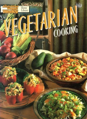 Vegetarian-Cooking-by-Australian-Women-039-s-Weekly-VGUC-FREE-POST-Paperback-1990