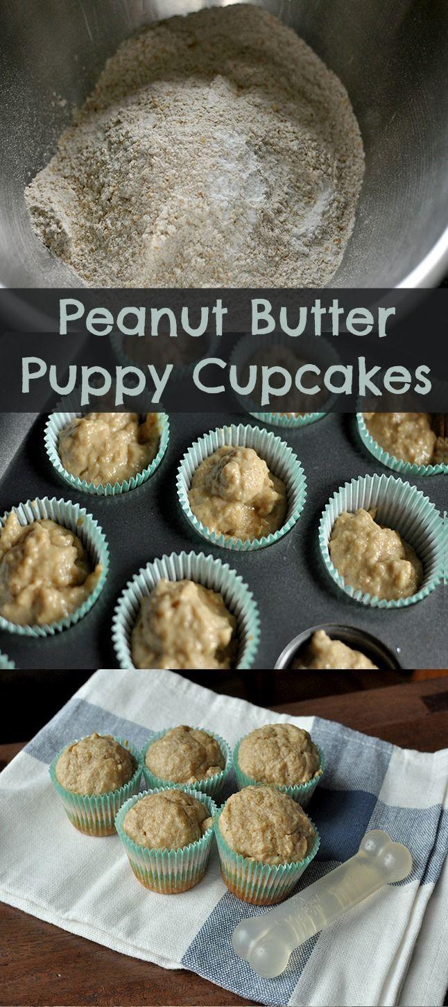 Homemade Peanut Butter Dog Cupcakes Recipe Natural peanut butter