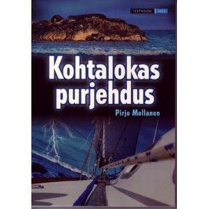 """Kohtalokas purjehdus on Pirjo Mellasen toinen """"matka- dekkari"""". Nyt purjehditaan Suomenlahden vesillä."""