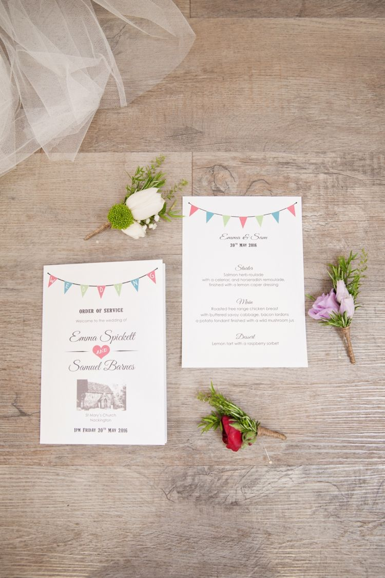 Fresh & Vibrant Spring Country Wedding | Stationery, Spring weddings ...