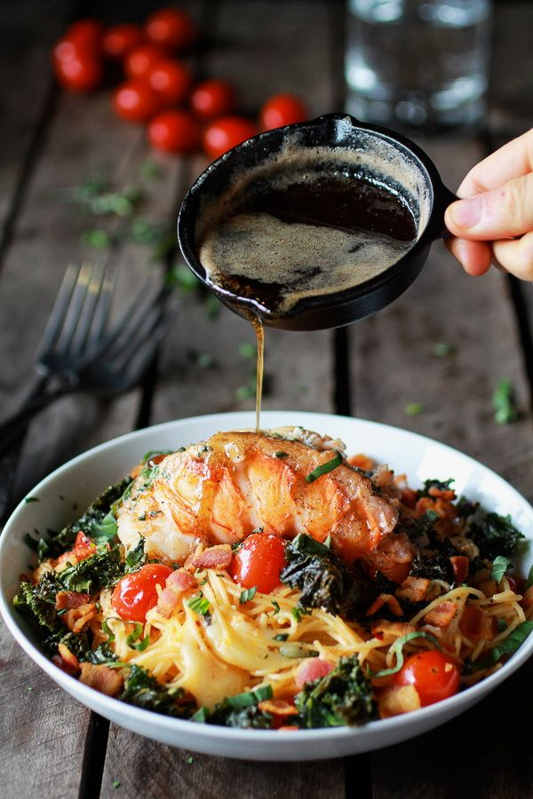 Brown butter lobster with pasta healthy valentine seafood dinner brown butter lobster with pasta healthy valentine seafood dinner recipe idea diy craft 2 forumfinder Image collections