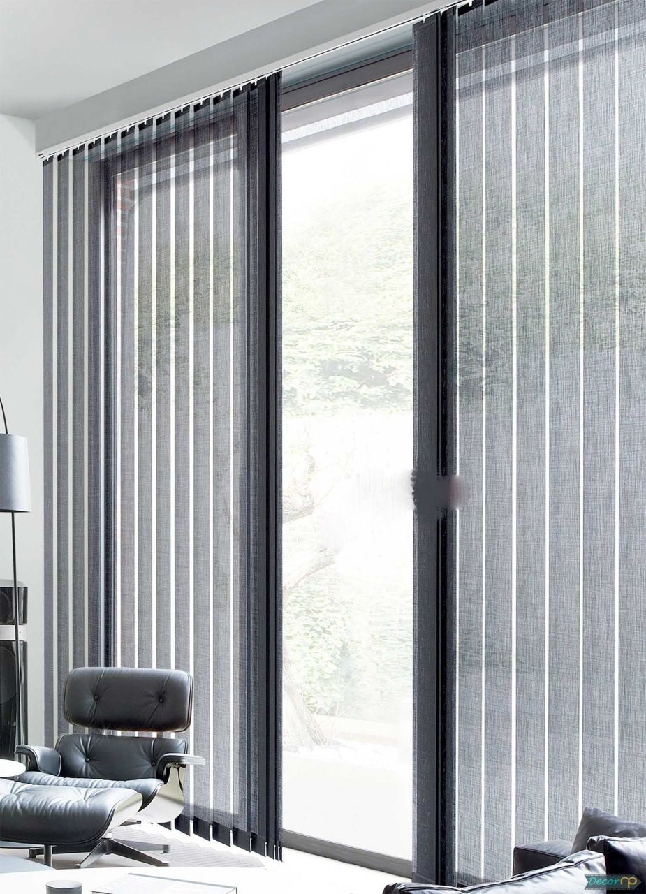 Vertical Honeycomb Blinds For Sliding Glass Doors In 2020 Sliding Glass Door Blinds Modern Window Shades Sliding Door Blinds