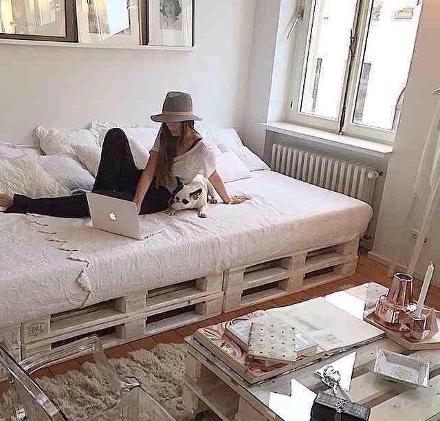 Sunday Bedroom Inspo Don T Mind If I Do Styling By: Decoración De Unas, Camas De Palés