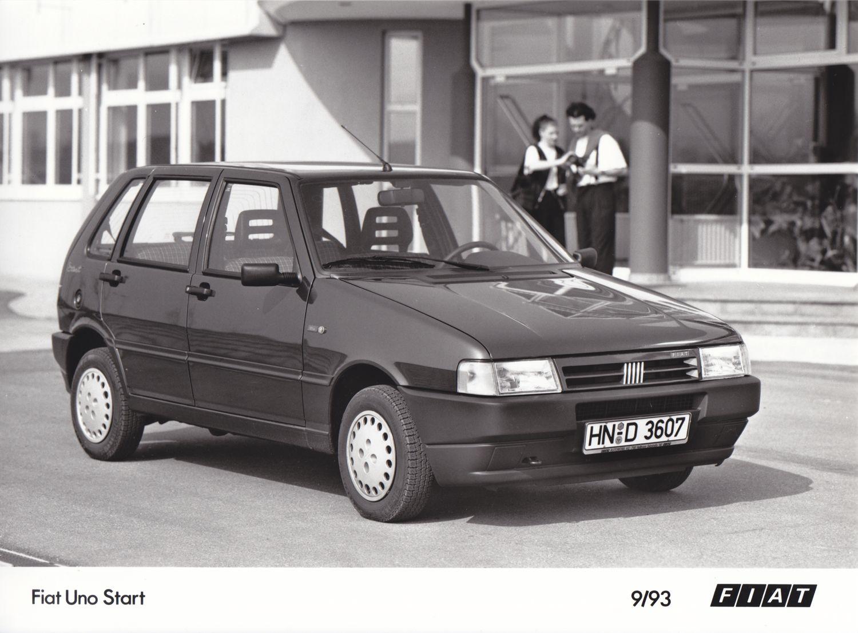Fiat Uno Start 9 93 Italian Cars Fiat Uno Fiat Car