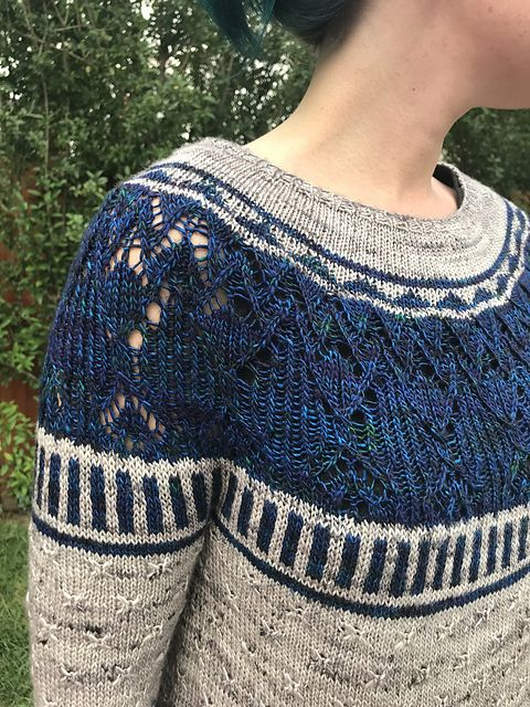 Zweig pattern by Caitlin Hunter | Strick | Pinterest | Pulli ...