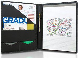 amazon com stylio padfolio resume portfolio folder interview