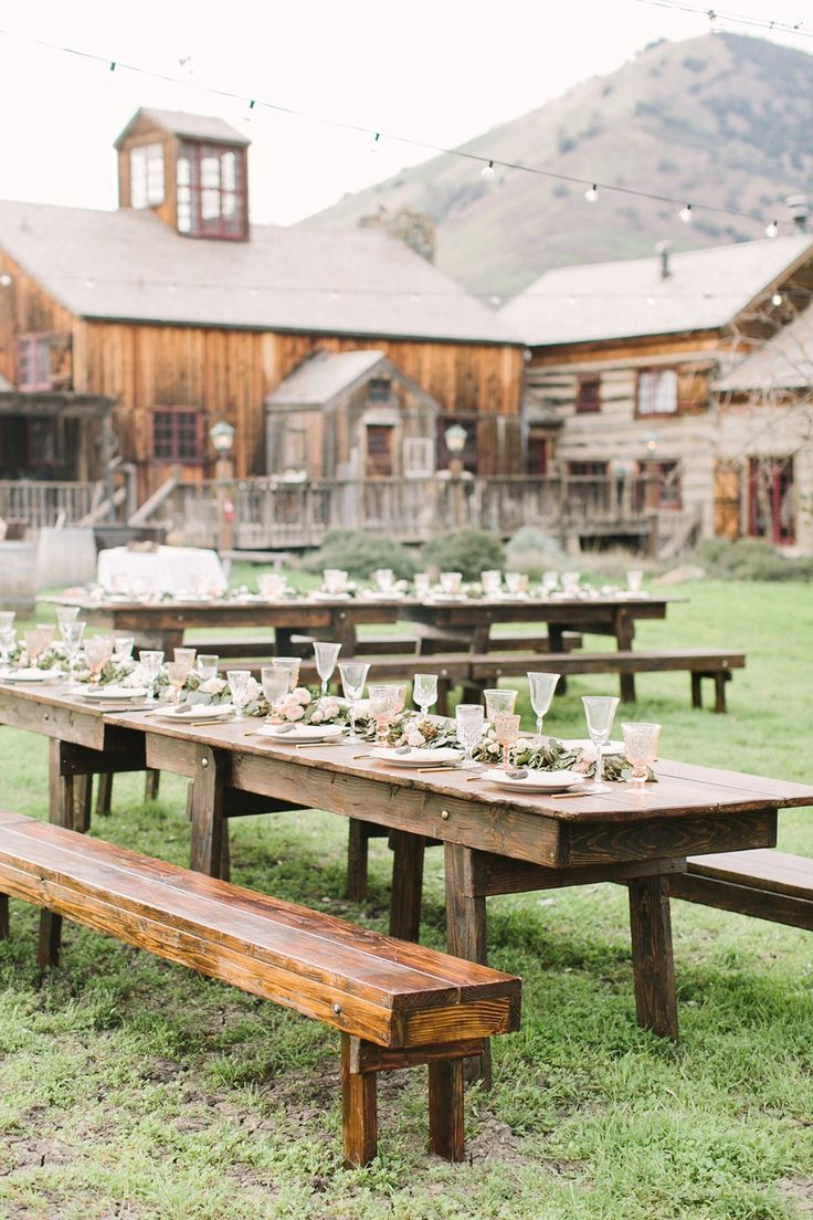 Figueroa Mountain Farmhouse Rustic Wedding Rustic