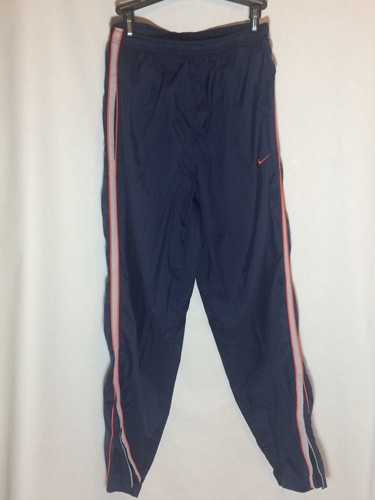 fec134e7ea37 NIKE Men s Dark Blue Sz S Track WIND Pants LINED Athletic SPORT Vintage   Nike  AthleticSweatPants  Everyday