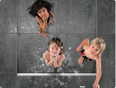 Stylish Shower Drains / Floor Channels by Dallmer