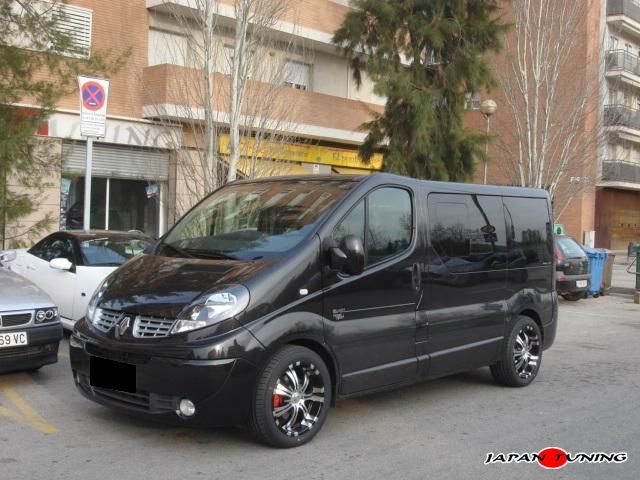 renault trafic furgonetos pinterest. Black Bedroom Furniture Sets. Home Design Ideas