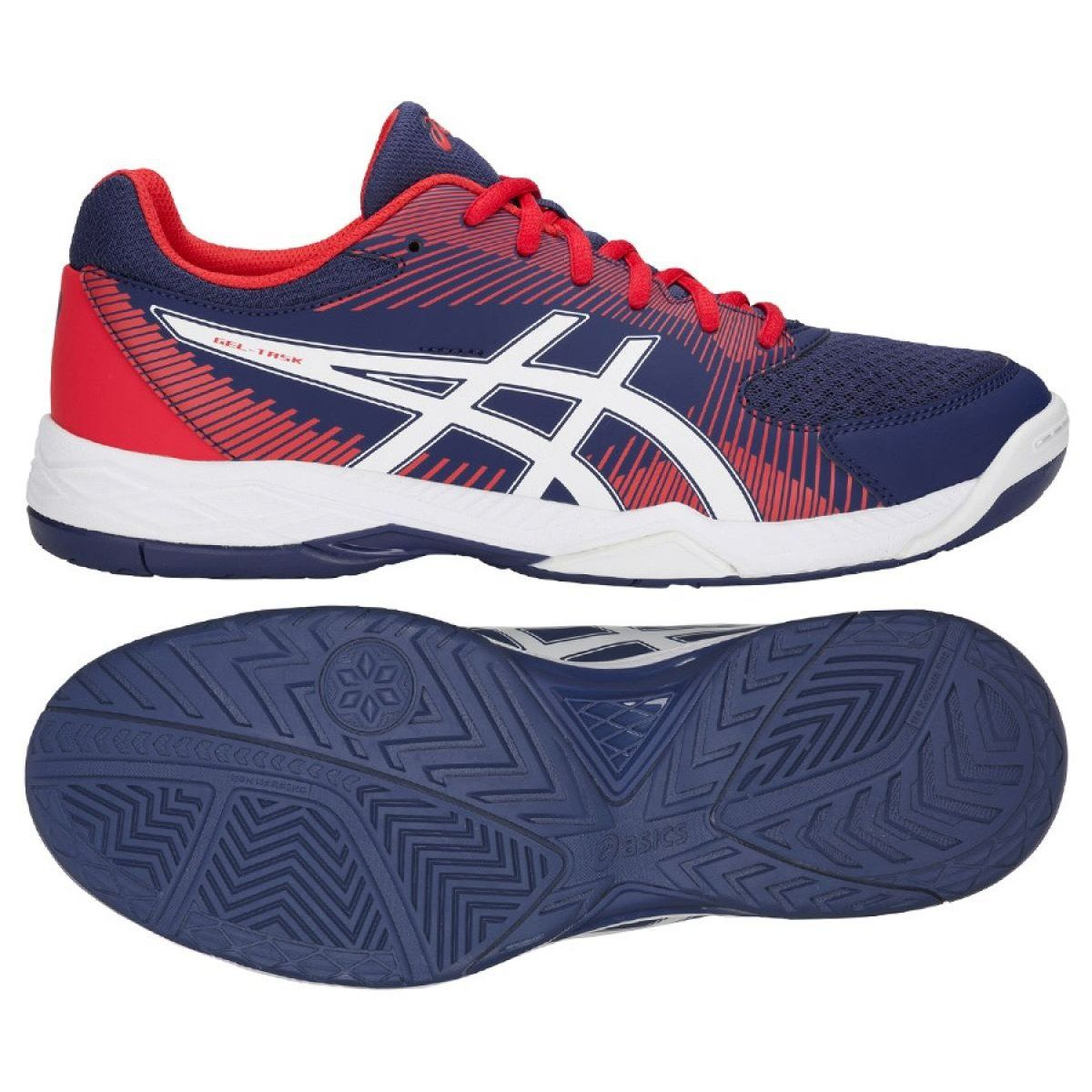 Asics Gel Task M B704y 400 Volleyball Shoes Navy Navy Volleyball Shoes Mens Volleyball Shoes Asics