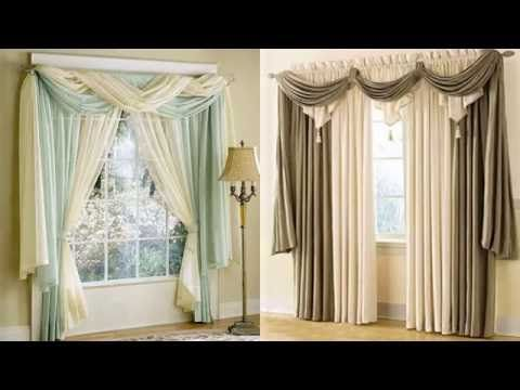 60 ideas de cortinas hermosas para decorar youtube for Disenos de cortinas