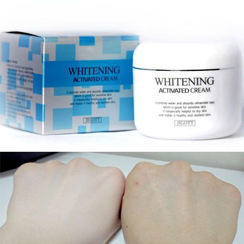 Whitening Activated Cream 100g  Moistur Korean Cosmetics Korea Cosmetic - JIGOTT #JIGOTT