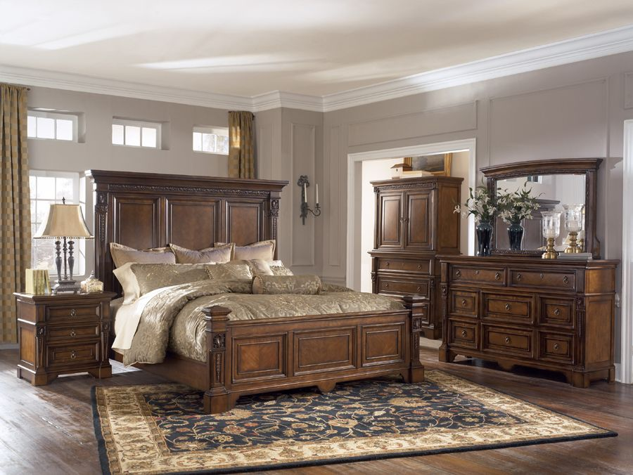 Ashley Bedroom Furniture Collections Lagana Furniture The Foxdown Collectio