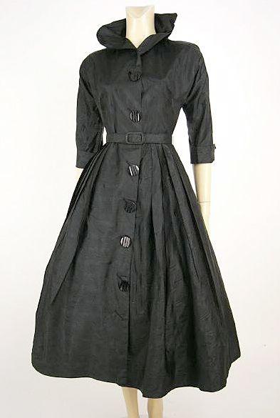 1950's dress jacket | MM Style | Pinterest | Coatdress, Vintage ...